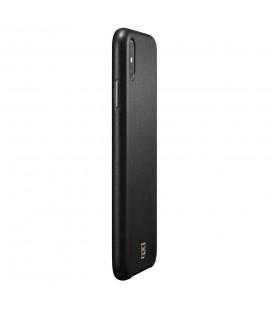 """Tamsiai pilkas atverčiamas dėklas Samsung Galaxy A6 Plus 2018 telefonui """"Book Vennus Cotton"""""""