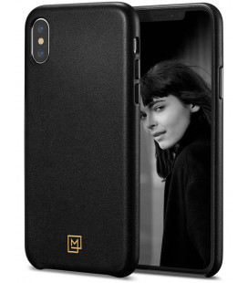 "Juodas dėklas Apple iPhone XS Max telefonui ""Spigen La Manon Calin"""