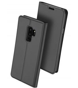 """Pilkas atverčiamas dėklas Samsung Galaxy S9 Plus telefonui """"Dux Ducis Skin"""""""