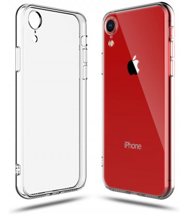 "Skaidrus dėklas Apple iPhone XR telefonui ""Tech-Protect Flexair"""