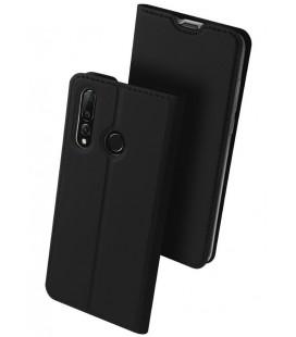 """Juodas atverčiamas dėklas Huawei Nova 4 telefonui """"Dux Ducis Skin"""""""