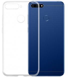 """Skaidrus silikoninis dėklas Huawei Y6 Prime 2018 telefonui """"Clear"""""""