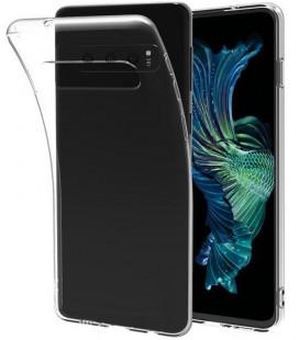 """Skaidrus silikoninis dėklas Samsung Galaxy S10 Plus telefonui """"Clear"""""""