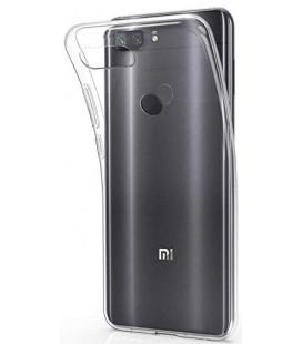 """Skaidrus silikoninis dėklas Xiaomi Mi8 Lite telefonui """"Clear"""""""
