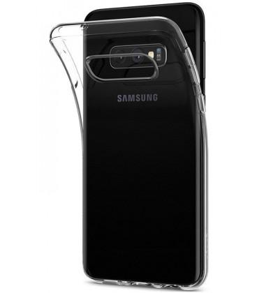 """Skaidrus silikoninis dėklas Samsung Galaxy S10E telefonui """"Clear"""""""