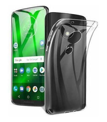 """Skaidrus silikoninis dėklas Motorola Moto G7 telefonui """"Clear"""""""