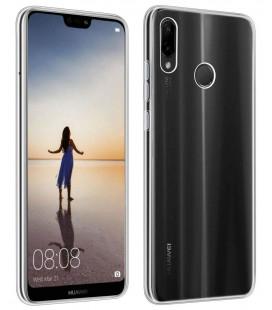 """Skaidrus silikoninis dėklas Huawei P30 Lite telefonui """"Clear"""""""