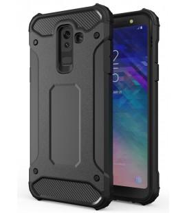 """Juodas dėklas Samsung Galaxy A6 Plus 2018 telefonui """"Hybrid Armor Case"""""""
