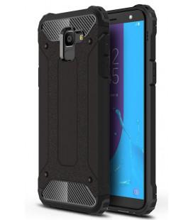 """Juodas dėklas Samsung Galaxy J6 2018 telefonui """"Hybrid Armor Case"""""""