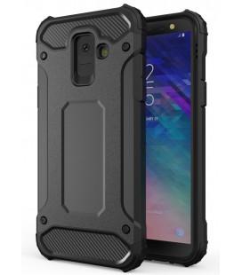 """Juodas dėklas Samsung Galaxy A6 2018 telefonui """"Hybrid Armor Case"""""""