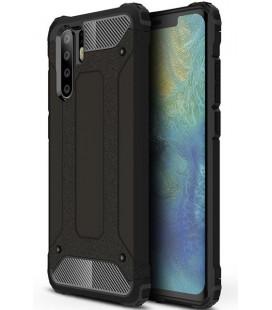 """Juodas dėklas Huawei P30 Pro telefonui """"Hybrid Armor Case"""""""