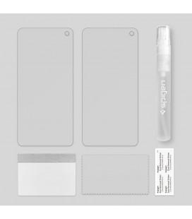 """Juodas apsauginis grūdintas stiklas Apple iPhone XS Max telefonui """"Mocolo"""""""