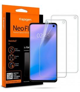 """Apsauginės ekrano plėvelės Samsung Galaxy S10 telefonui """"Spigen Neo Flex HD"""""""