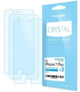 """Apsauginės ekrano plėvelės Apple iPhone 7 Plus / 8 Plus telefonui """"Spigen Film Crystal"""""""