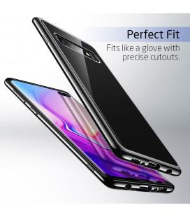 """Rausvai auksinės spalvos silikoninis dėklas Samsung Galaxy A8 2018 telefonui """"Mercury Goospery Dream Bumper"""""""