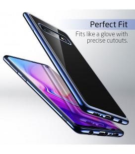 """Smėlio spalvos silikoninis dėklas Samsung Galaxy A6 2018 telefonui """"Mercury Soft Feeling"""""""