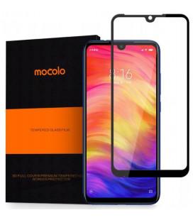 """Juodas apsauginis grūdintas stiklas Xiaomi Redmi Note 7 telefonui """"Mocolo"""""""