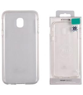 """Skaidrus silikoninis dėklas Samsung Galaxy J3 2018 telefonui """"Mercury Goospery Pearl Jelly Case"""""""