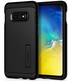"""Juodas dėklas Samsung Galaxy S10E telefonui """"Spigen Tough Armor"""""""