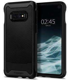 """Juodas dėklas Samsung Galaxy S10E telefonui """"Spigen Hybrid NX"""""""