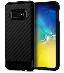 "Juodas dėklas Samsung Galaxy S10E telefonui ""Spigen Neo Hybrid"""