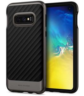 "Pilkas dėklas Samsung Galaxy S10E telefonui ""Spigen Neo Hybrid"""