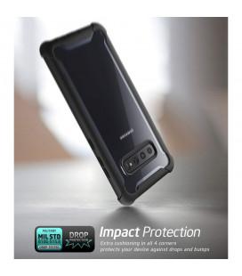 """Rožinis silikoninis dėklas Samsung Galaxy A6 Plus 2018 telefonui """"Mercury Goospery Pearl Jelly Case"""""""