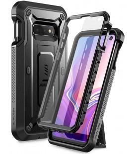 """Juodas dėklas Samsung Galaxy S10E telefonui """"Supcase Unicorn Beetle Pro"""""""