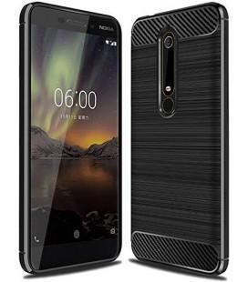 """Juodas dėklas Nokia 6 Plus telefonui """"Tech-Protect"""""""
