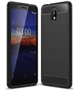 """Juodas dėklas Nokia 3.1 telefonui """"Tech-Protect"""""""
