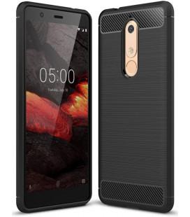 """Juodas dėklas Nokia 5.1 telefonui """"Tech-Protect"""""""