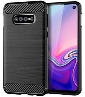 """Juodas dėklas Samsung Galaxy S10E telefonui """"Tech-Protect"""""""