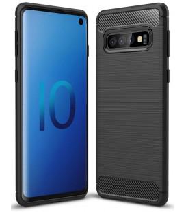 """Juodas dėklas Samsung Galaxy S10 telefonui """"Tech-Protect"""""""
