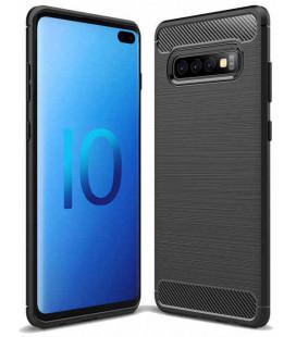 """Juodas dėklas Samsung Galaxy S10 Plus telefonui """"Tech-Protect"""""""
