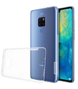 """Skaidrus silikoninis dėklas Huawei Mate 20 telefonui """"Nillkin Nature"""""""