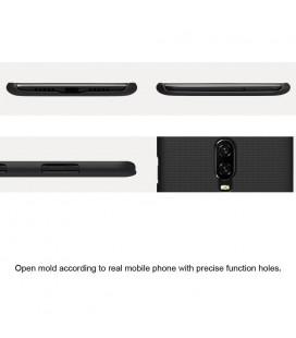 """Juodas apsauginis grūdintas stiklas Xiaomi Redmi Note 6 Pro telefonui """"Mocolo"""""""