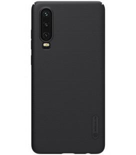 """Juodas dėklas Huawei P30 telefonui """"Nillkin Frosted Shield"""""""
