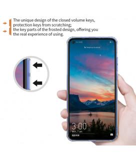"""Odinis raudonas atverčiamas dėklas Apple iPhone XR telefonui """"Nillkin Qin"""""""