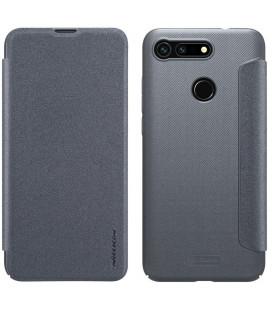 """Atverčiamas pilkas dėklas Huawei Honor View 20 telefonui """"Nillkin Sparkle"""""""