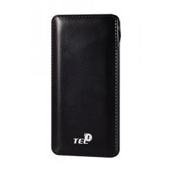 """Juoda išorinė baterija 12000mAh PowerBank """"Tel1"""""""