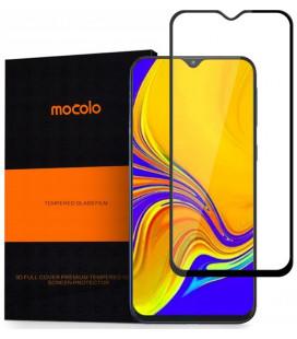 """Juodas apsauginis grūdintas stiklas Samsung Galaxy A50 telefonui """"Mocolo"""""""