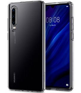 """Skaidrus dėklas Huawei P30 telefonui """"Spigen Liquid Crystal"""""""