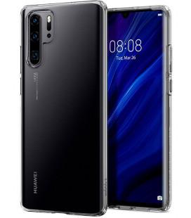 "Skaidrus dėklas Huawei P30 Pro telefonui ""Spigen Liquid Crystal"""