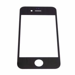 Juodas lietimui jautrus stiklas Apple iPhone 4/4g telefonui