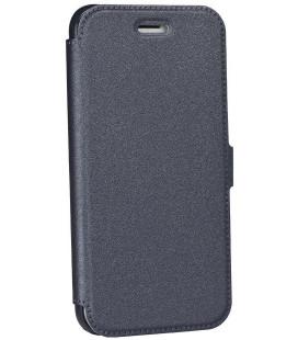 """Juodas atverčiamas dėklas Samsung Galaxy S7 Edge telefonui """"Telone Book Pocket"""""""