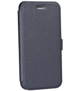 """Juodas atverčiamas dėklas Samsung Galaxy A8 2018 telefonui """"Telone Book Pocket"""""""