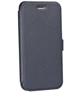 """Juodas atverčiamas dėklas Apple iPhone 6/6s telefonui """"Telone Book Pocket"""""""