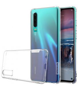 """Skaidrus silikoninis dėklas Huawei P30 telefonui """"Nillkin Nature"""""""