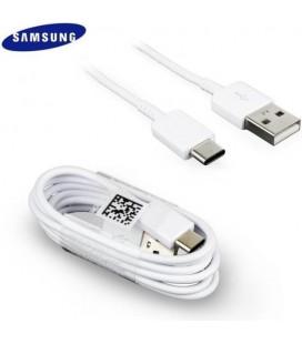 "Originalus baltas Samsung 0.8m Type C - USB laidas ""EP-DR140AWE"""