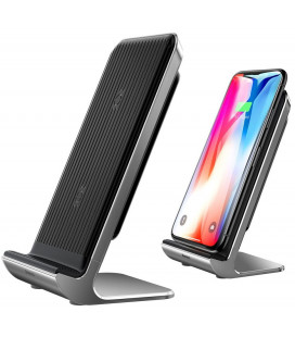 "Belaidis telefono pakrovėjas Qi Charger Stand with Built-in Fan ""Baseus Vertical"""